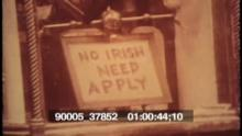 90005_37852 No Irish Need Apply Sign.mov